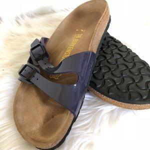 Purple Birkenstock Sandals